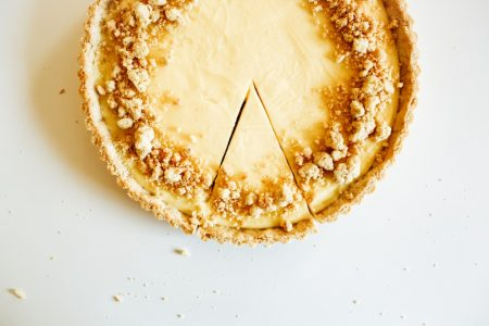 lemon almond tart recipe by the wood and spoon blog by kate wood. This is a simple almond meal flour crust, crunchy and golden, filled with a creamy custard like lemon filling. This is a take on the classic french tarte au citron. Make ahead and store in the fridge. Find the recipe for this summer fruit favorite on thewoodandspoon.com