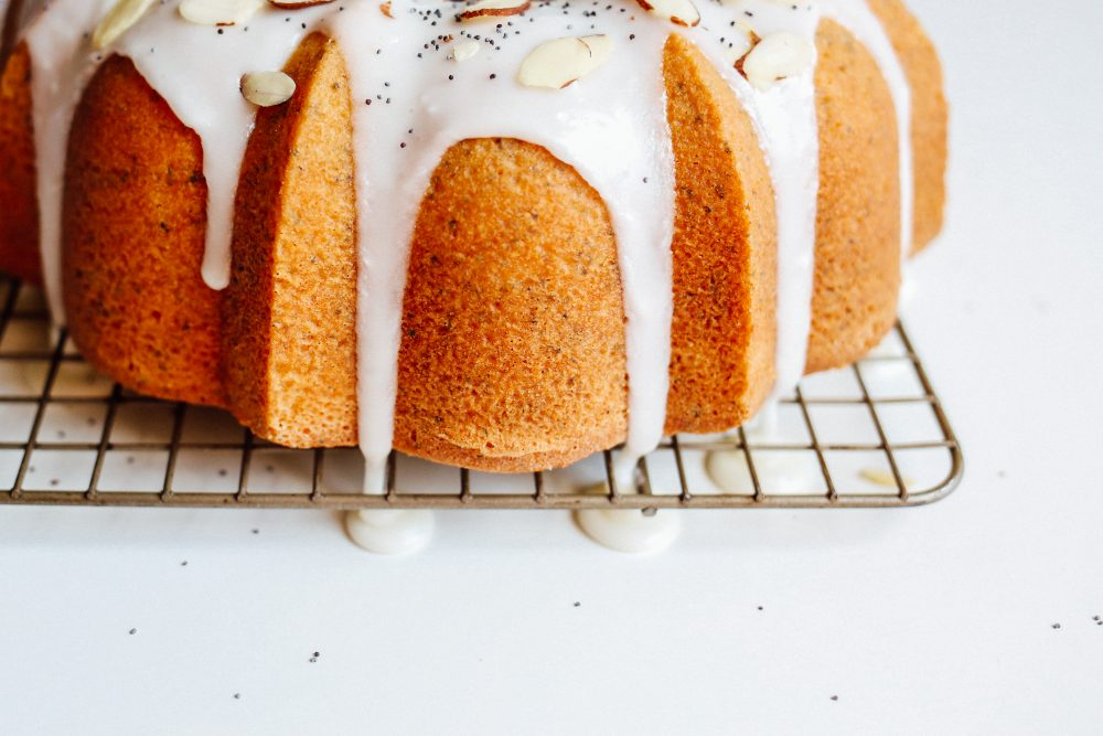 Lemon Almond Poppyseed Bundt Cake Recipe