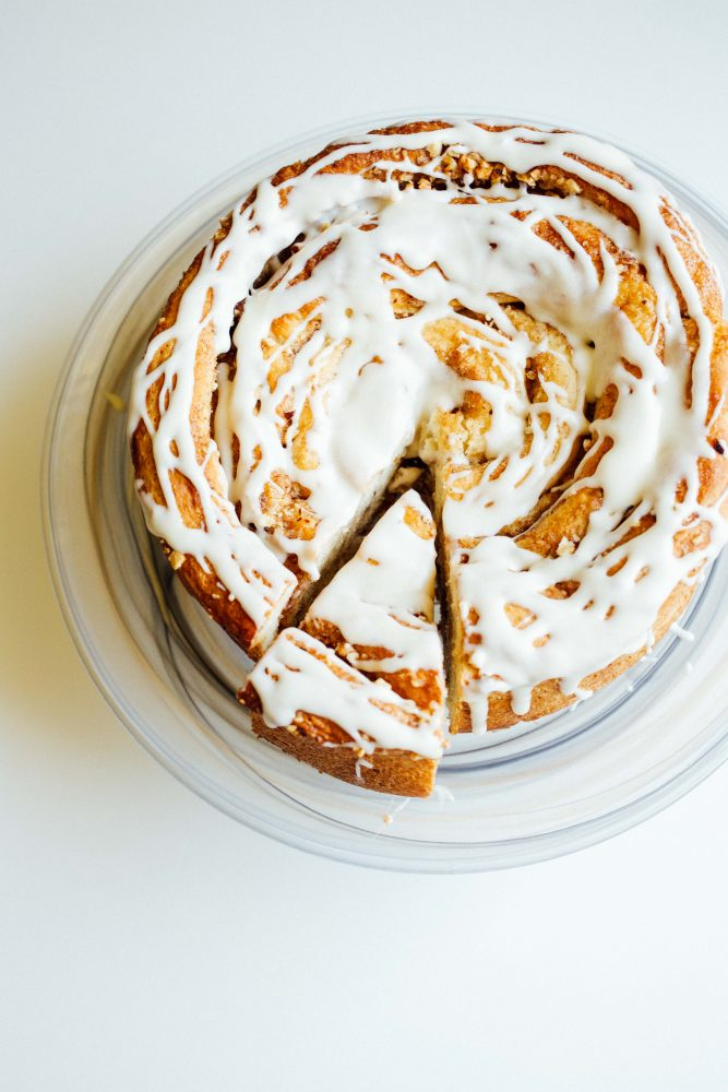 Giant Hazelnut Cinnamon Rolls Recipe