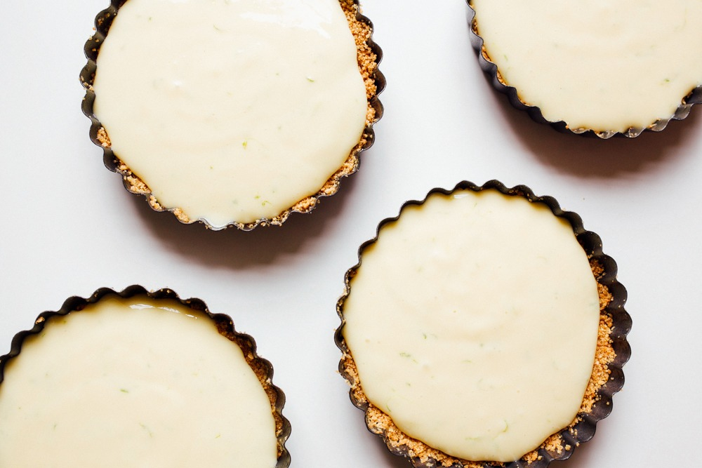Bruleed Key Lime Pies