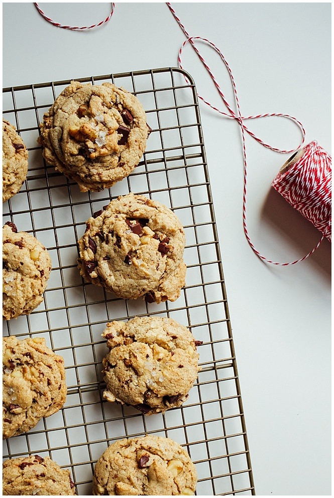 Candied Walnut Chocolate Chip Cookies