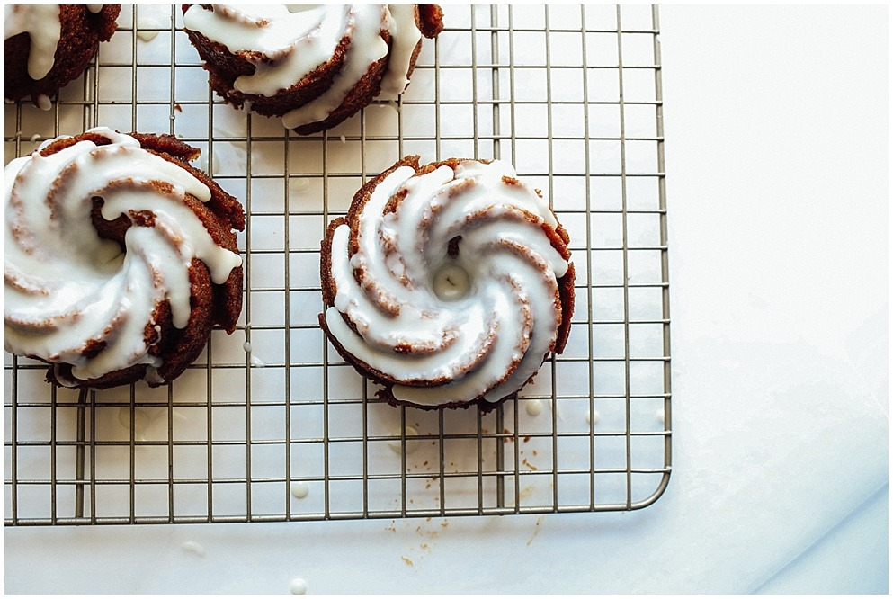 Ginger Molasses Bundt Cakes Wood Amp Spoon