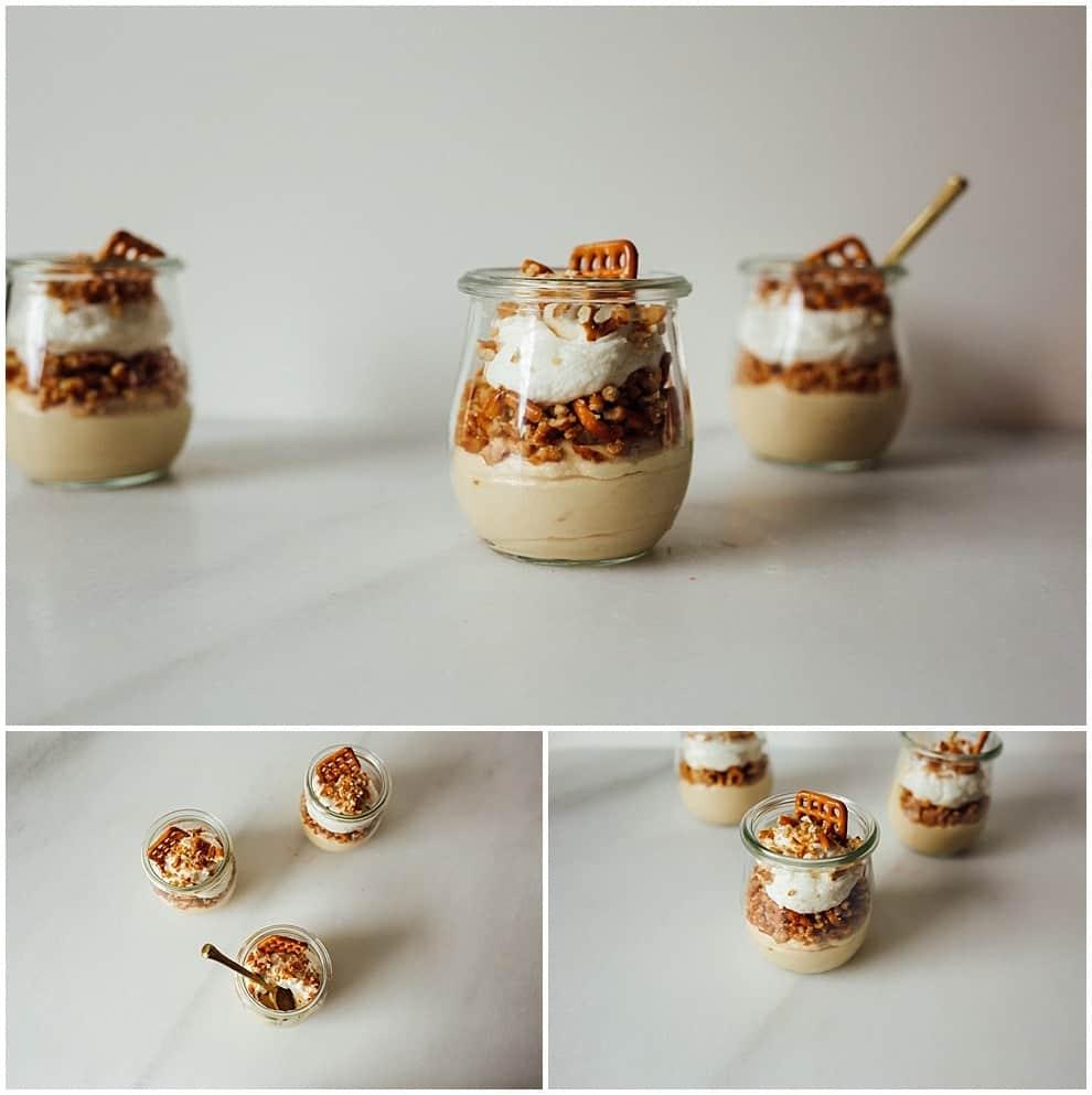 Cookie Butter Pretzel Mousse