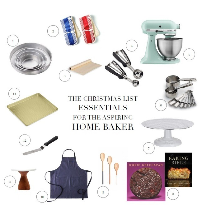 Christmas List Gift Guide for Baker