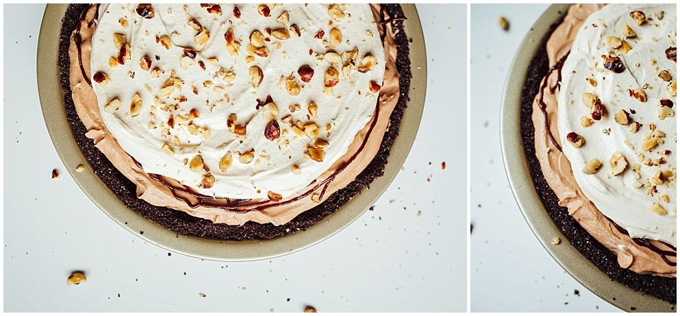 Mocha Hazelnut Cream Pie