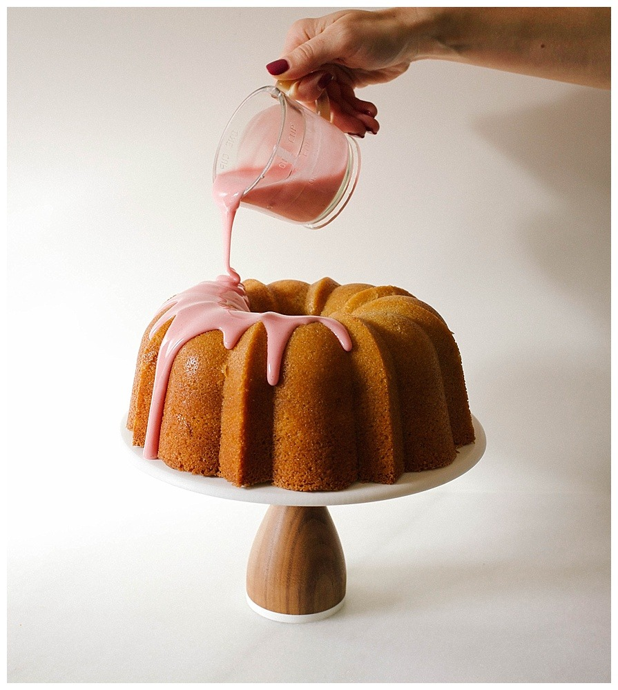 Blood Orange Bundt Cake