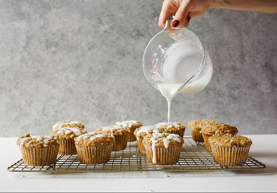 Hummingbird Muffins Recipe by thewoodandspoon.com . Crumb / streusel topped muffins based on the classic Southern hummingbird cake recipe, these muffins are filled with brown butter, banana, pineapple, brown sugar, and nuts. This recipe would be perfect for an Easter breakfast or brunch and are a great treat to share with friends. Simple, easy recipe based on Bake From Scratch Coffee Cake. By The Wood and Spoon Blog.