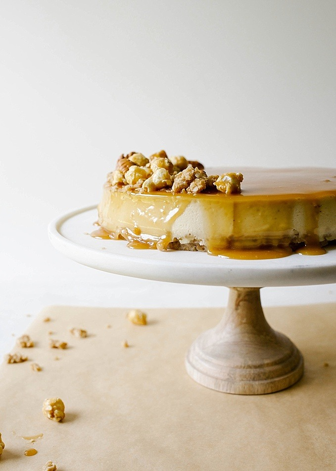 Brown Sugar Cheesecake With Oatmeal Cookie Crust