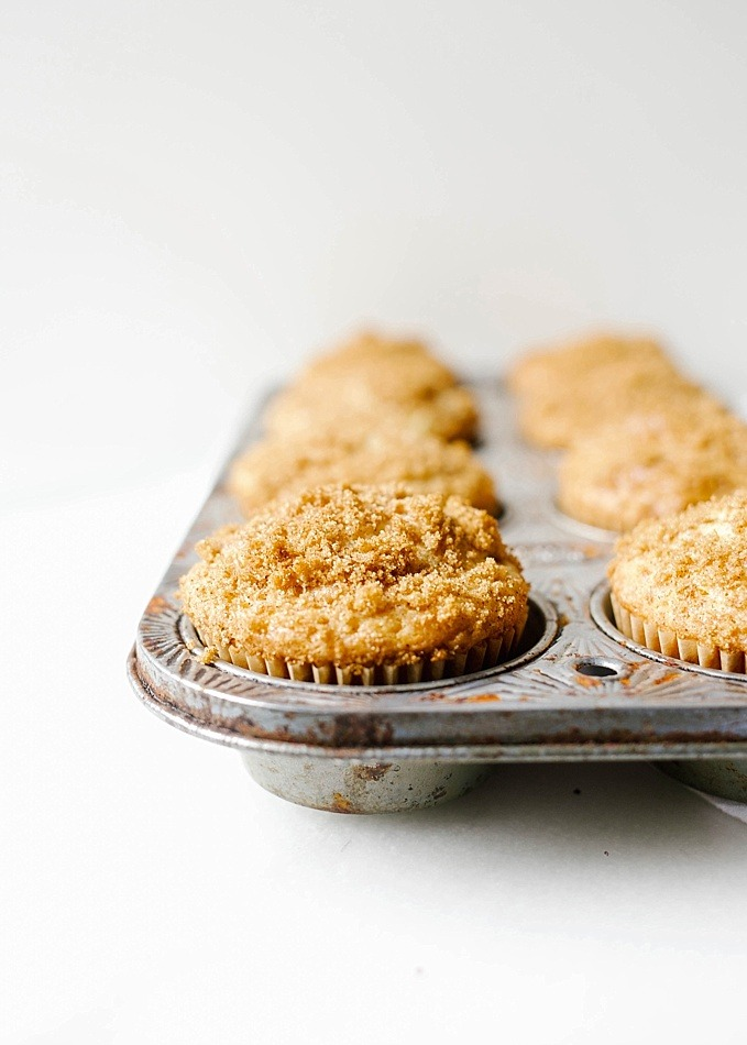 Coffee Cake Muffins Wood Spoon