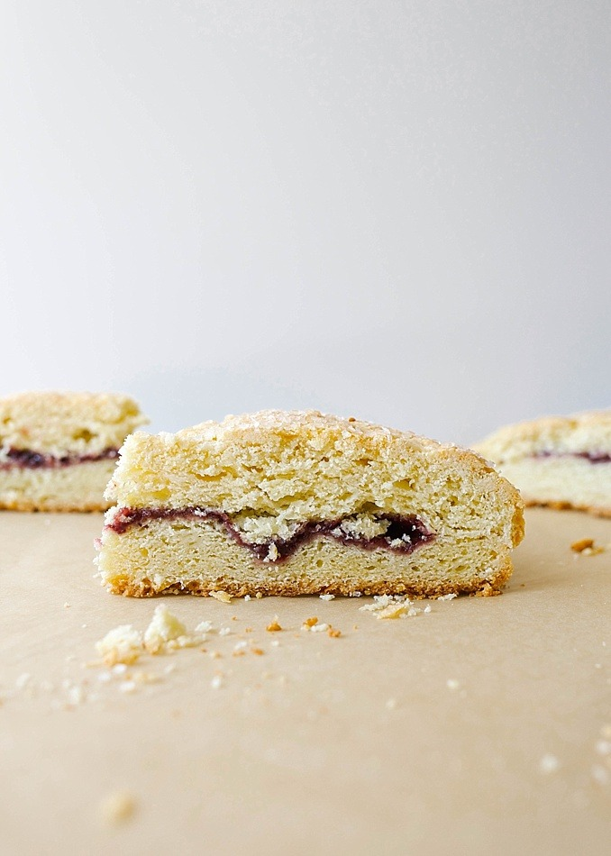 Jelly Filled Coffee Cake