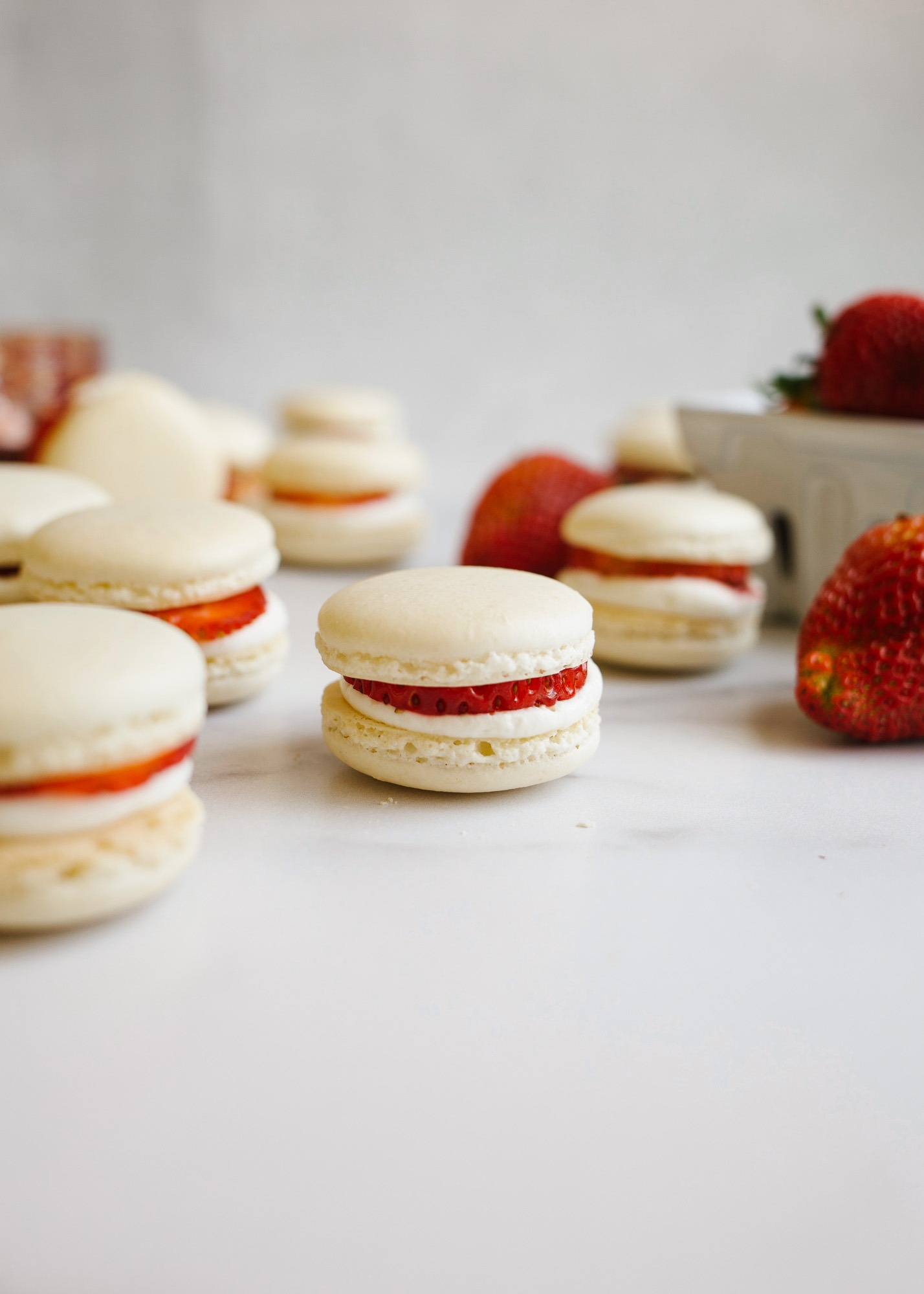 Strawberry Shortcake Macarons And A Mother S Day Gift Guide Wood Spoon