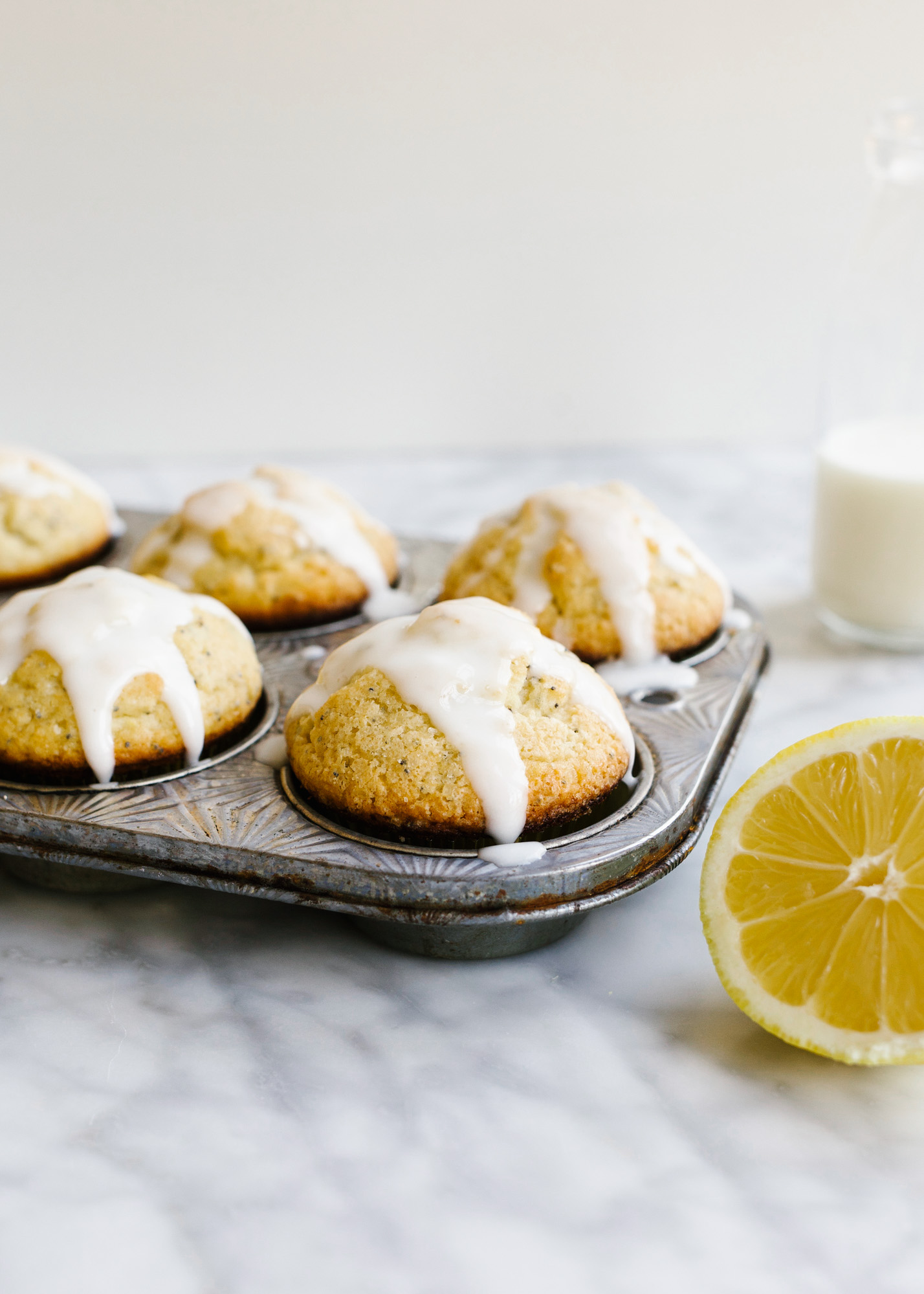 Lemon Poppy Seed Muffins - Wood & Spoon