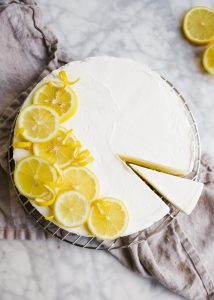 No-Bake Lemon Icebox Pie and Mother's Day Gift Guide by Wood and Spoon blog. This simple lemon icebox pie is completely no bake and terrific for novice and beginner bakers! Made with fresh lemon juice, cream cheese, and whipped cream, this fresh and summery treat is a yummy way to welcome warmer days ahead. Learn how to make this easy dessert on thewoodandspoon.com