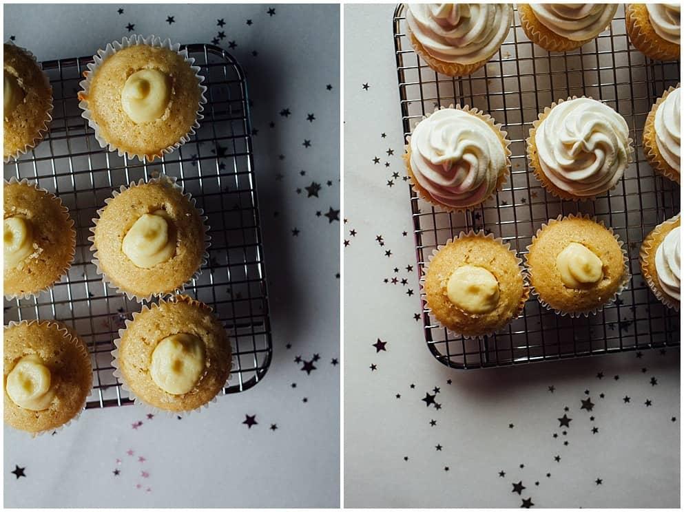 Champagne Elderflower Cupcakes