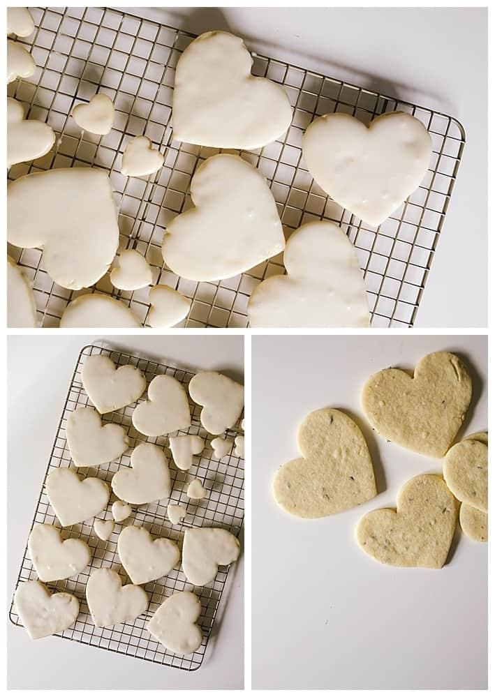 Lavender Vanilla Bean Sugar Cookies