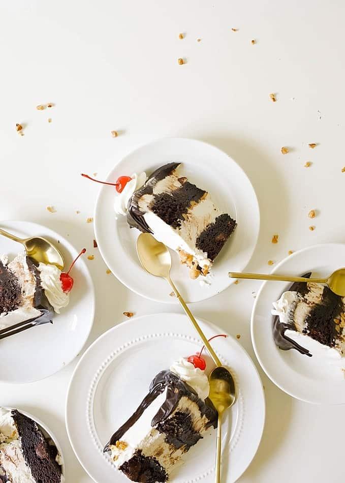 Naked fat girl sundae Hot Fudge Sundae Cake Wood Spoon