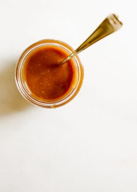 You Need to Know How to Make Caramel by Wood and Spoon Blog. This is a tutorial with visual cues on how to caramelize sugar. Learn how to know when caramel is done, when to pull caramel off the heat, and how to prevent a crystallized, grainy caramel mess! Learning about caramel is an essential baking skill that you can master today! Read more here on thewoodandspoon.com by Kate Wood caramel sauce, salted, spun sugar, drizzle